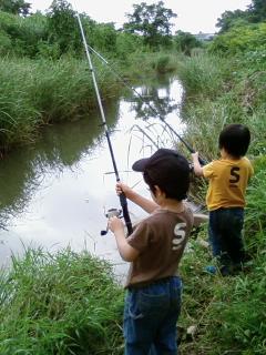 ちびっこと釣り大会