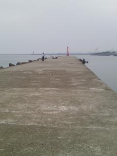 夏休み打ち上げ釣行七が浜漁港