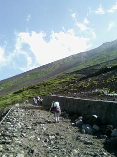 子連れ富士山登山3