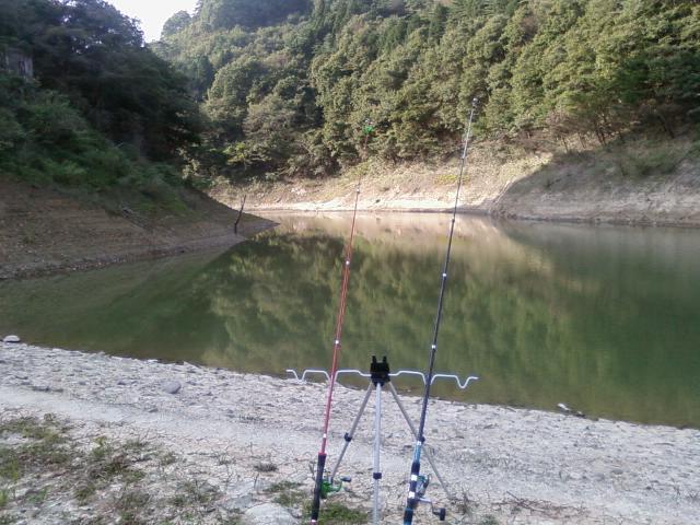 大笹生ダム 秋の釣果