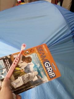 復活 ベルナーのテント