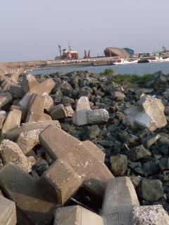 鳥の海、磯浜漁港 釣果報告 2008年4月第4週