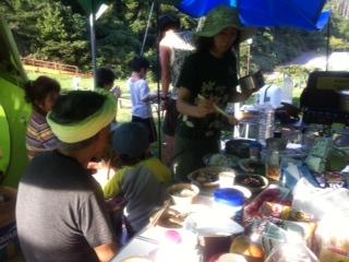 ダッチオーブンで作る鯛飯